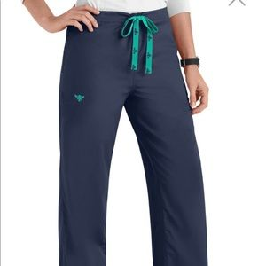 Med Couture navy scrub pants NWT